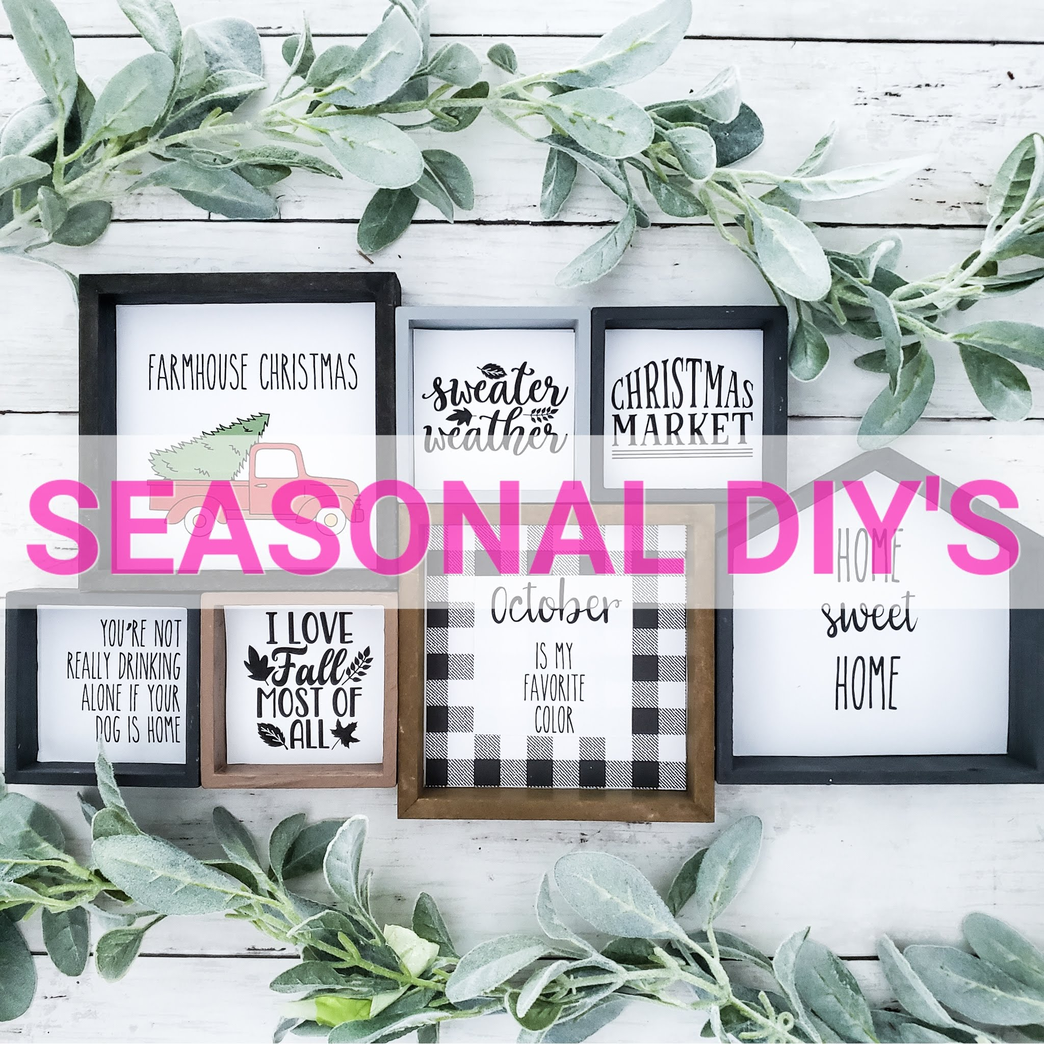 Seasonal DIY's